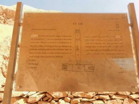 New tombs to visit - Amenemope ; Amenemopet ; TT 148 ; TT148 ; Thebes, Luxor ; Dra abu el-Naga ; tomb Egypt (1 of 6) | Aladin-Fazel | Scoop.it