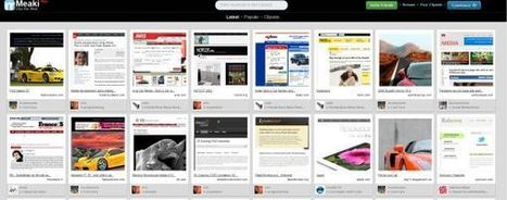 "Meaki – un ""Pinterest"" de sitios web.- 