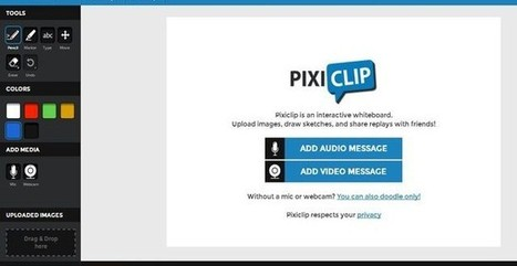 PixiClip, crea mensajes para compartir: audio, vídeo, imágenes y texto | Blogs educativos generalistas | Scoop.it