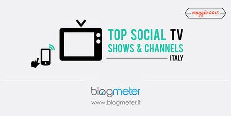 Social Tv, i Talent a maggio rubano la scena a tutti [Infografica]   Social Media (network, technology, blog, community, virtual reality, etc...)   Scoop.it