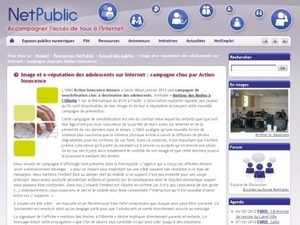 Image et e-réputation des adolescents sur Internet : campagne choc ... | L'identité numérique et les adolescents | Scoop.it