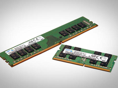 ​Samsung begins mass production of 10-nanometer class DRAM | ZDNet | Technology Business | Scoop.it