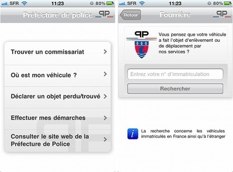 La police investit votre iPhone | Richard Dubois - Mobile Addict | Scoop.it