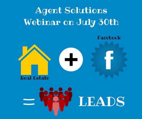 Facebook + Real Estate = Leads! | Real Estate Agent Marketing | Scoop.it