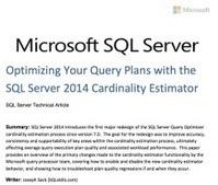 Curious About the SQL Server Server 2014 Cardinality Estimator ... | SQL Server | Scoop.it