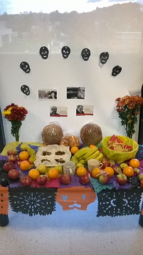 Altar del Día de los Muertos | The UMass Amherst Spanish & Portuguese Program Newsletter | Scoop.it