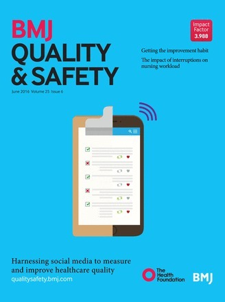 Social media and healthcare quality improvement: a nascent field | Social Health on line | Scoop.it