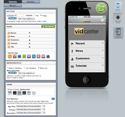 How to Make a Video iPhone App For Your Business in 10 Minutes - Vidcaster blog | PersonalScoops | Scoop.it