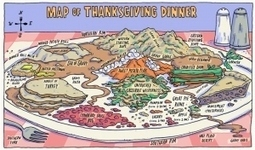 Thanksgiving Cartography « Sketches & Jottings | Cartography | Scoop.it