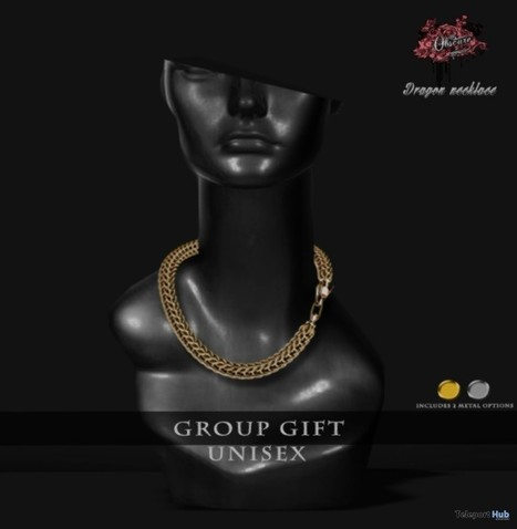 Dragon Necklace Unisex Group Gift by OBSCURE | Teleport Hub - Second Life Freebies | Second Life Freebies | Scoop.it
