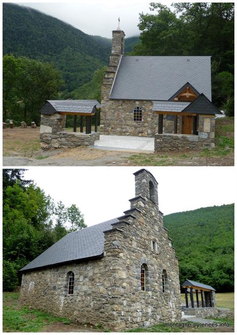 Cadéac : la grange en ruines du diacre est devenue une chapelle | Vallée d'Aure - Pyrénées | Scoop.it