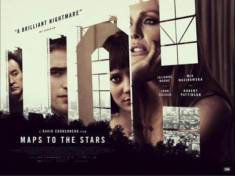 The Film Stage — A new U.K. poster for David Cronenberg's Maps to... | 'Cosmopolis' - 'Maps to the Stars' | Scoop.it