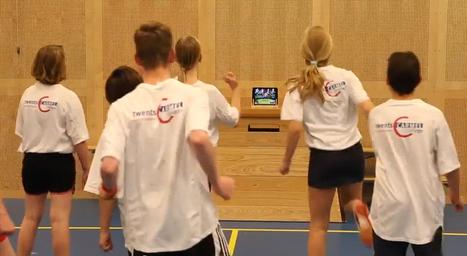 Gymnastiek met een app: 'Ict is de toekomst, ook in de gymzaal' - Kennisnet   Bewegingsonderwijs   Scoop.it