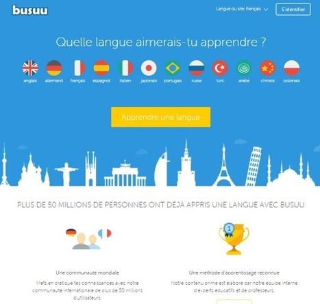 Apprendre plusieurs langues en ligne gratuitement | Time to Learn | Scoop.it