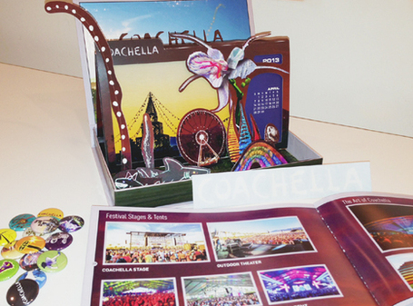 Coachella Ticket Packaging: The Ultimate Branding Experience | MoreMarketing | Scoop.it