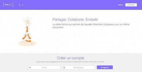PomDoc. Travailler à plusieurs sur un même document - Les Outils Collaboratifs | Les outils d'HG Sempai | Scoop.it