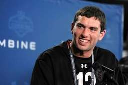 QB Andrew Luck admires Colts Peyton Manning | Alcoholic Outsider Artist | Scoop.it