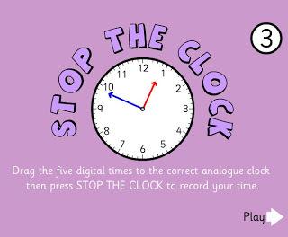 Stop the Clock   Games for 3_4 LT   Scoop.it