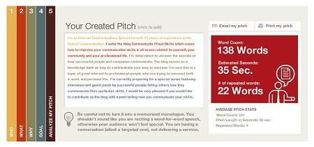 Harvard Business School's Elevator Pitch Builder | business tools | Scoop.it