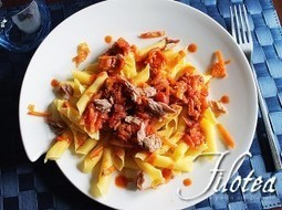 Pennette with Tuna and Carrots sauce - Pennette con Sugo al Tonno e Carote | Le Marche and Food | Scoop.it