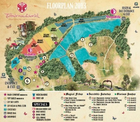 TommorWorld Reveals Stunner Site Map (PHOTO) - Vibe | skrillex <3 | Scoop.it