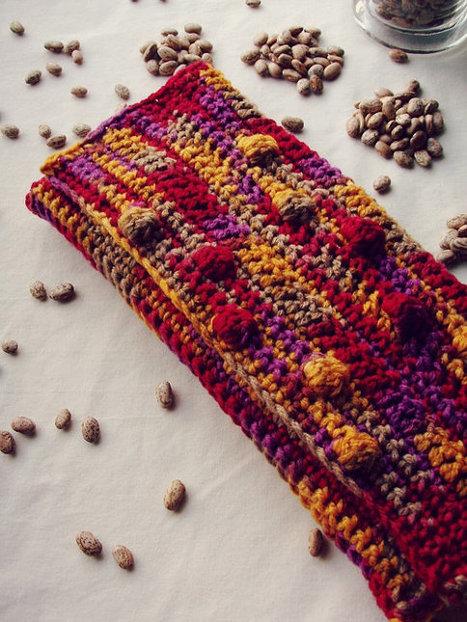 crochet purse-crochet clutch-crochet bag purse-handbag | Crochet | Scoop.it