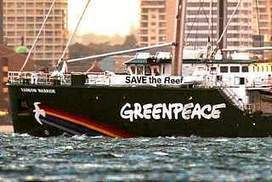 Rainbow Warrior in town on reef mission | Geography in the classroom | Scoop.it