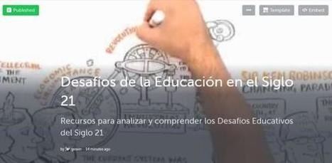 12 Recursos para Analizar los Desafíos Educativos del Siglo 21 | Académicos | Scoop.it