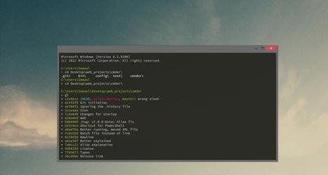 cmder   Console Emulator   opexxx   Scoop.it