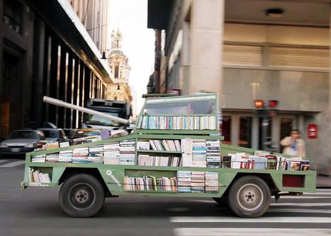 Ένα τανκ μετατρέπεται σε κινητή βιβλιοθήκη, και καταλαμβάνει τους ... - LiFO | Information Science | Scoop.it