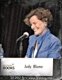 The 3 R's Blog // Reading, 'Riting, and Randomness: At the Festival of Books: A Conversation with Judy Blume | The Reading Librarian | Scoop.it