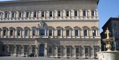 Ambassade de France en Italie, le Palais Farnese révèle ses splendeurs | Evénements patrimoine | Scoop.it
