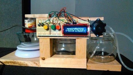 Arduino-Based Dispenser Delivers Liquids, Powders | Raspberry Pi | Scoop.it