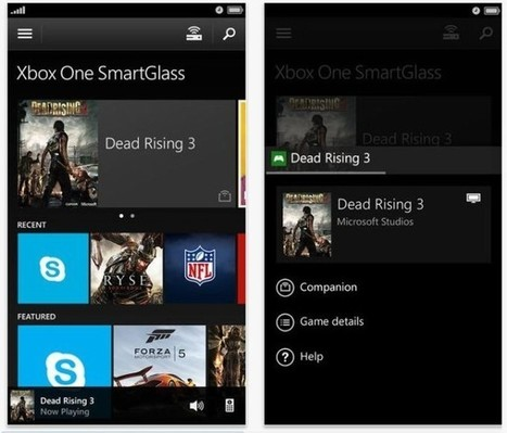 Microsoft Launches Xbox One SmartGlass App For Second-Screen Control (Cult of Mac) | TV connected | Scoop.it