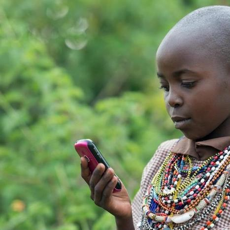 Mobile Phones Deliver Millions of E-Books to Developing World | Mashable.com | Internet Development | Scoop.it