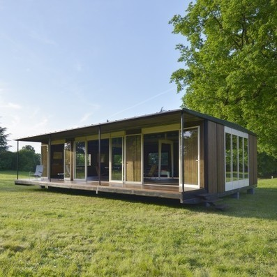 Jean Prouvé DEMOUNTABLE office rescued from swingers' club | The Architecture of the City | Scoop.it