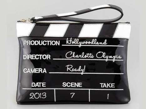 Movie Slate-Inspired Clutches - The Charlotte Olympia Lights! Camera! Action! Bag is Hollywood Chic (TrendHunter.com)   CLUB BRIGADA   Scoop.it