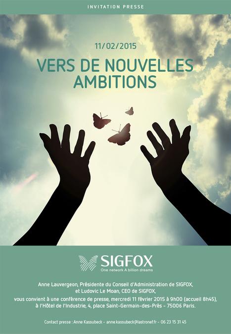 Bourse - SIGFOX : invitation conférence de presse - 11 février 2015 | SIGFOX | Scoop.it
