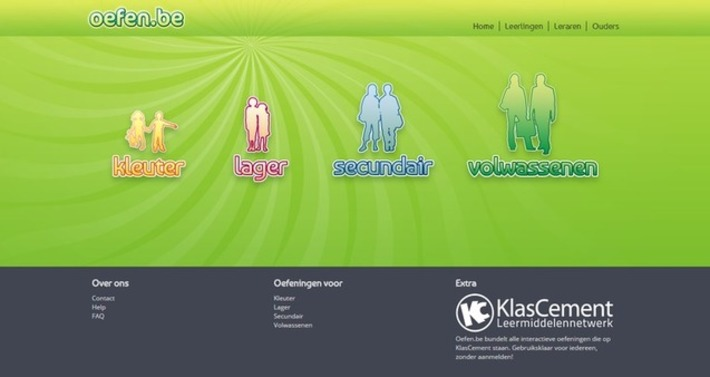 Edu-Curator: Oefen.be: gratis en interactief online oefenmateriaal voor groep 1-2 t/m 8 | Educatief Internet - Gespot op 't Web | Scoop.it