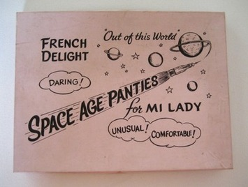 Vintage Space Age Panties | Lingerie Love | Scoop.it