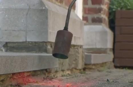Il désherbe une école au chalumeau... et provoque un incendie | Plusieurs idées pour la gestion d'une ville comme Namur | Scoop.it