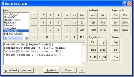 Arcgis Raster Calculator : Eliminando pequenas regiões no Grid ~ Blog do ArcGis | Geoprocessing | Scoop.it