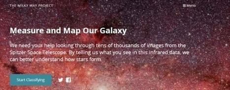 Nuevo Milky Way Project, con más datos, más imágenes y más objetos que encontrar en nuestra galaxia | El rincón de mferna | Scoop.it
