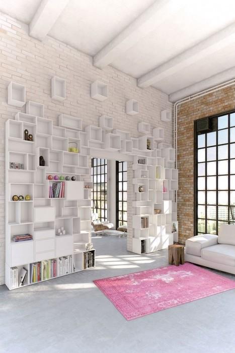 Cubit : des étagères murales modulables pour une décoration personnalisée | Blog Déco'In | Et si Maison Blanche vous apportait une solution? | Scoop.it