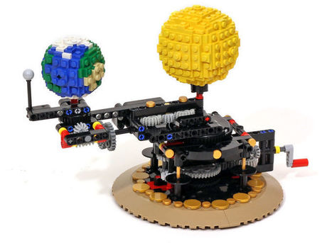 Working Lego Model of the Earth, Moon, and Sun Is Remarkably 97 Percent Accurate | Everything from Social Media to F1 to Photography to Anything Interesting | Scoop.it