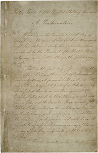 Featured Document: The Emancipation Proclamation | CIvil War | Scoop.it