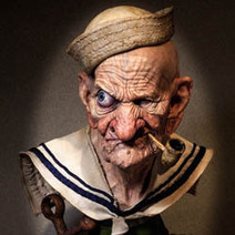 Hollywood Legend 3D Printing Popeye - 3D Printing Industry | 3d design and printing | Scoop.it