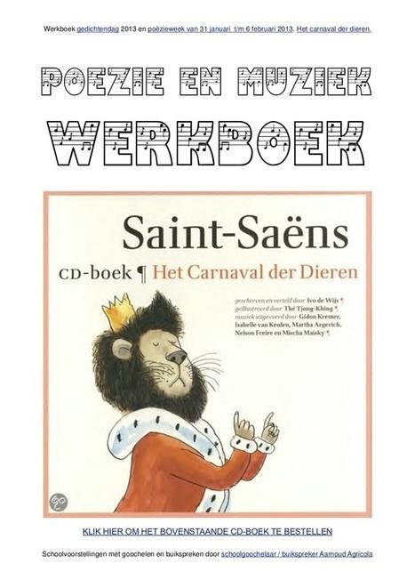 Poëzie en muziek werkboek met werkbladen voor gedichtendag van schoolgoochelaar Aarnoud Agricola   Gratis thema-werkboeken van schoolgoochelaar Aarnoud Agricola uit Utrecht   Scoop.it