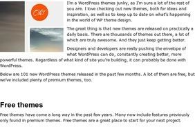 101 Awesome new WordPress themes | Webdesigner Depot | Tips & Web Design | Scoop.it