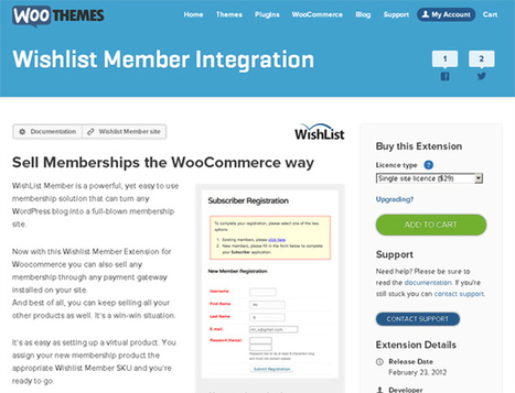 Woocommerce Wishlist Member Integration Download | Download Free Full Scripts | eCommerce | Scoop.it